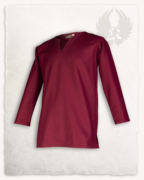 Tronde Tunika Wolle bordeaux LIMITED EDITION