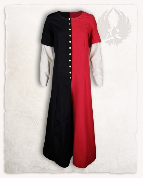 Susy Kleid Limited Edition schwarz/rot