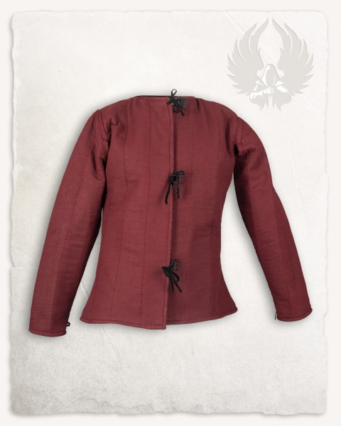 Aulber Gambeson Jacke Leinen rot LIMITED EDITION