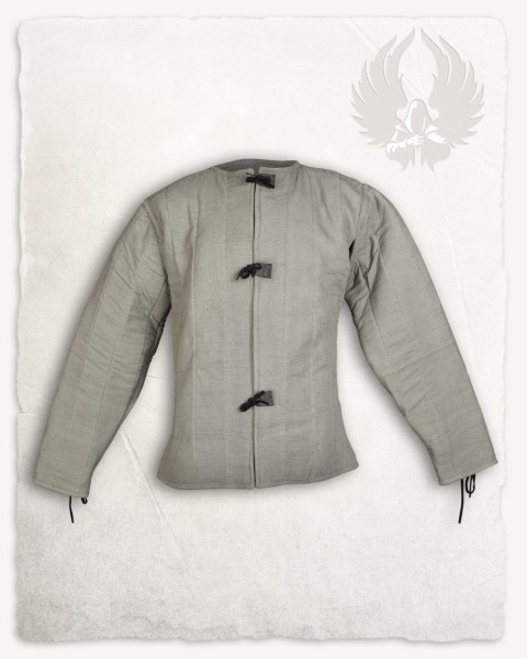Aulber Gambeson Jacke Canvas natur