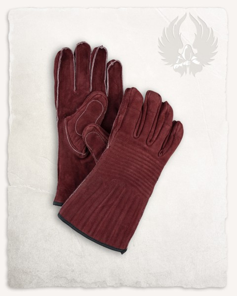 Clemens Handschuhe bordeaux Limited Edition
