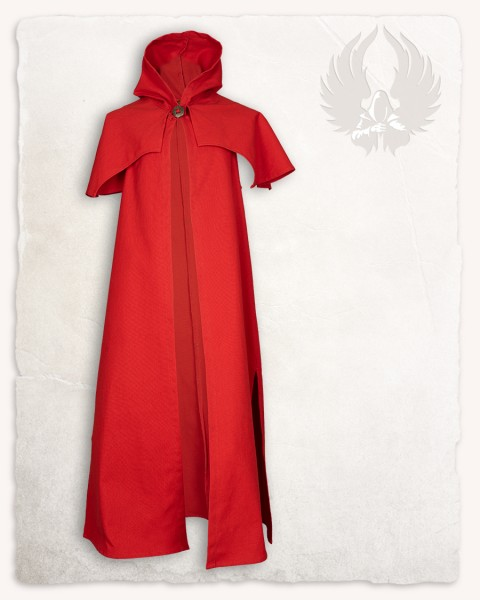 Abraxas coat red