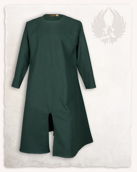 Wolfram long tunic premium canvas green