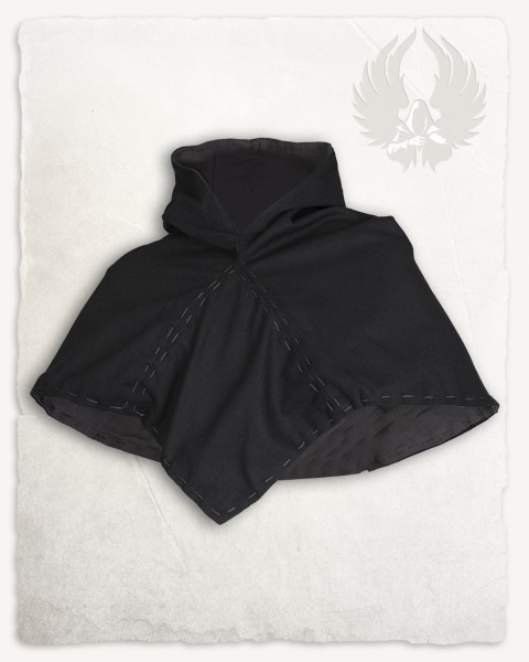 Halaif hood cotton black/grey