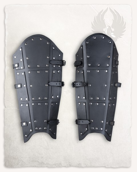 Quintus greaves split leather black