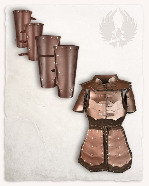 Rasmus armour set brown