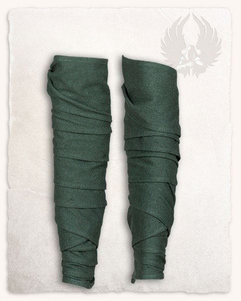 Hamond cotton puttee green