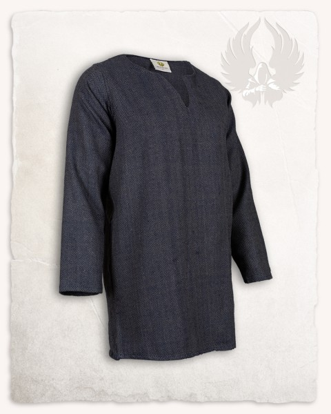 Tronde tunic herringbone blue Limited Edition