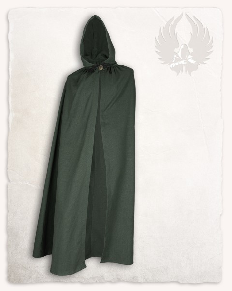 Aaron cloak canvas green