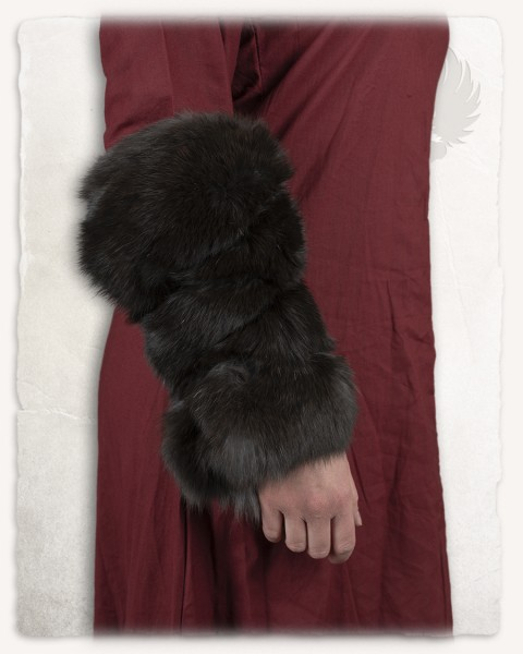 Arm wraps fur Alaska rabbit
