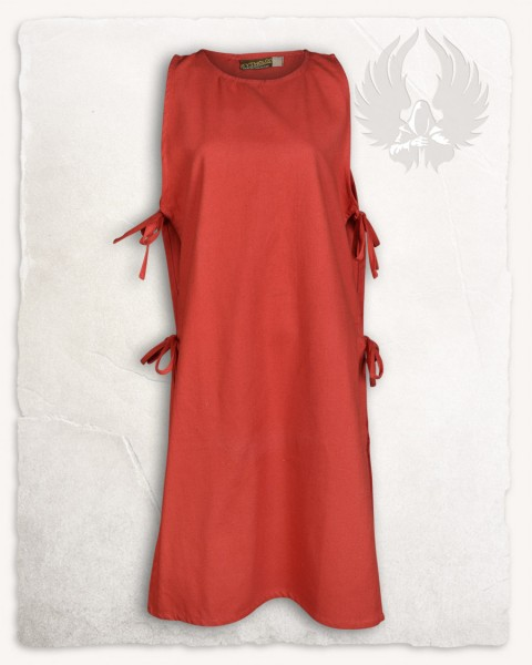 Ormhild Schürzenkleid Canvas Limited Edition rot