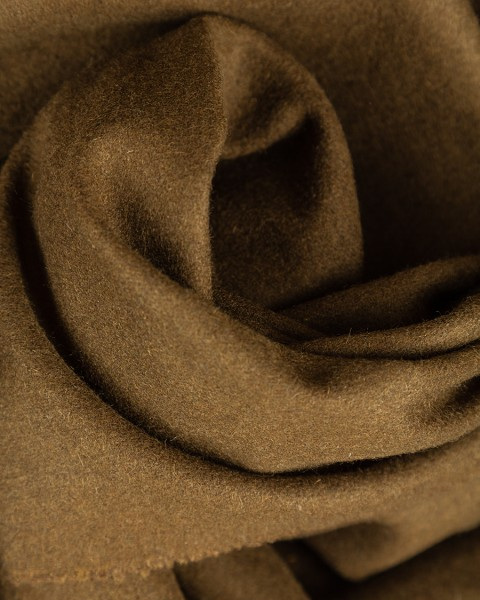 Mixed cotton fabric olive
