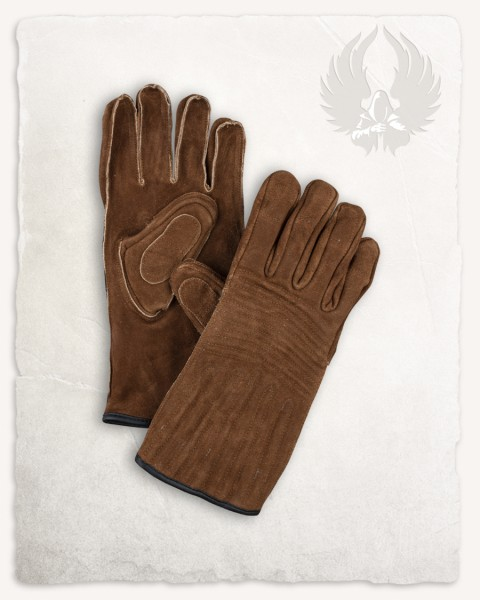 Clemens gloves light brown