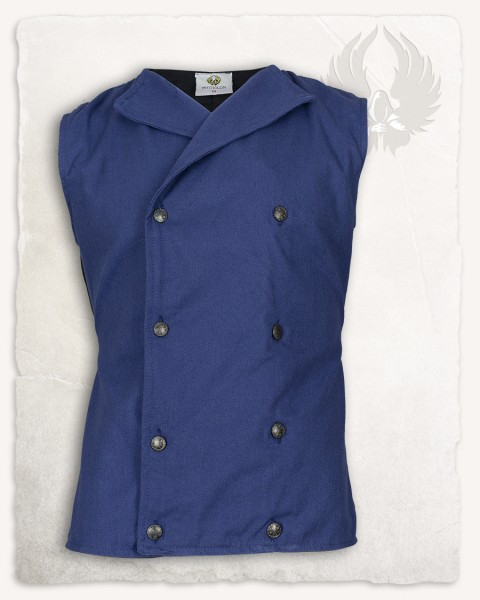 Hamish vest canvas blue LIMITED EDITION