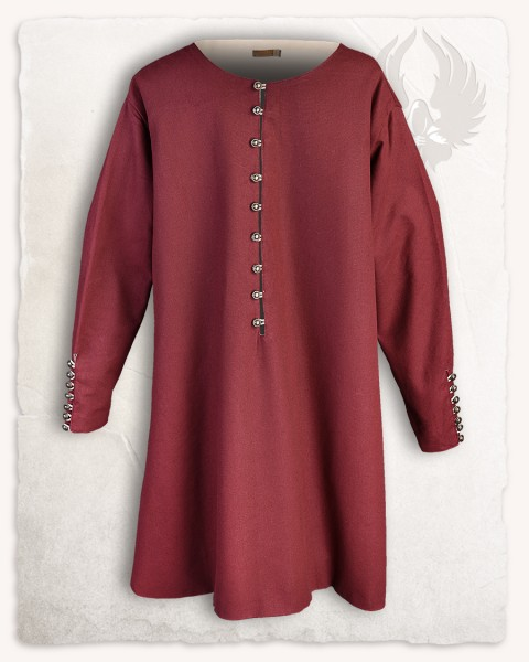 Rafael tunic cotton bordeaux