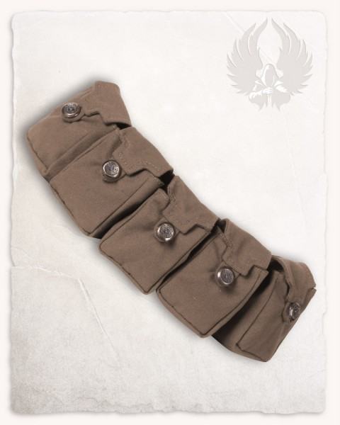 Borchard five-bag-belt brown