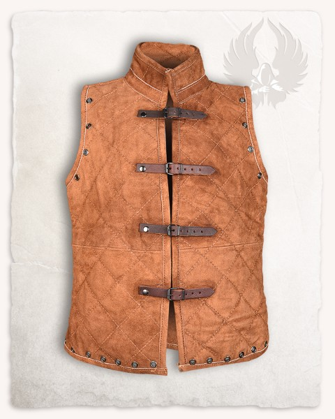 Arthur gambeson vest suede light brown LIMITED EDITION