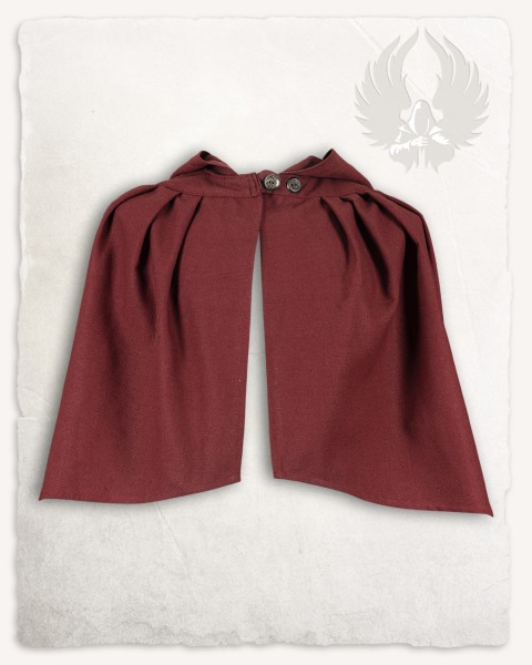 Niko cloak Canvas bordeaux Limited Edition