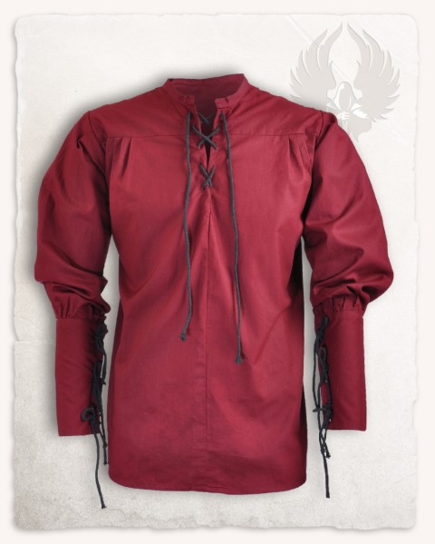 Simon shirt bordeaux