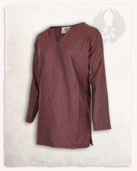 Tronde tunic herringbone bordeaux Limited Edition