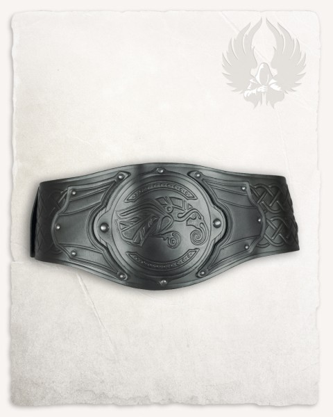 Floki viking belt raven black