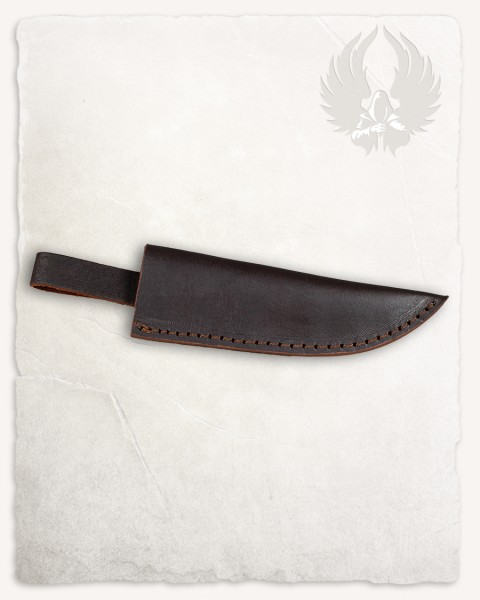 Limm knife leather sheath brown