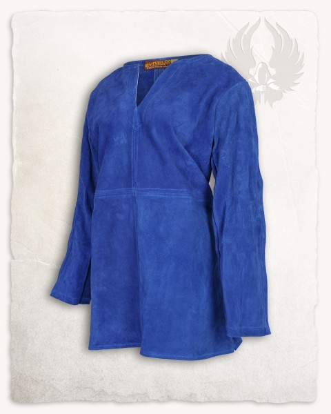 Tronde Tunic suede light blue LIMITED EDITION