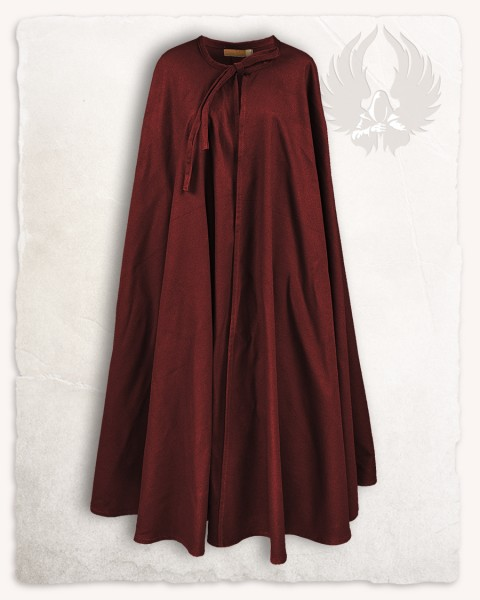 Rudolf cloak canvas bordeaux