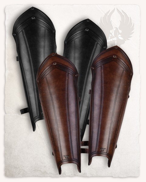 Torson Leather Greaves