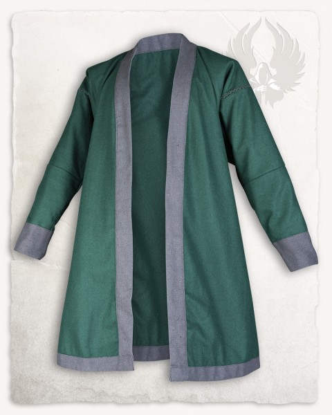 Rasoul double breasted tunic wool green