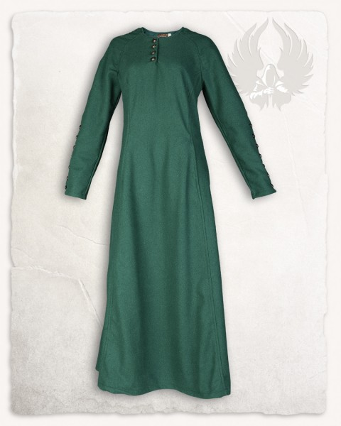 Jovina Kleid Wolle grün LIMITED EDITION