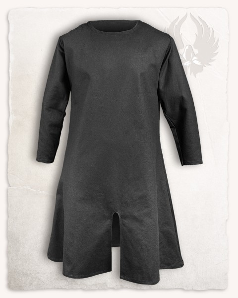 Wolfram long Tunic cotton black