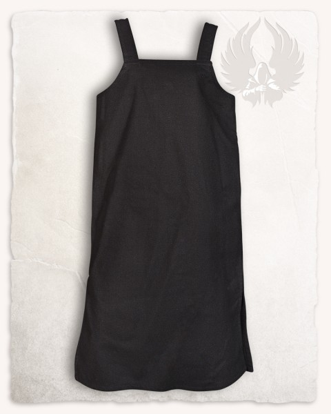 Esther apron dress black