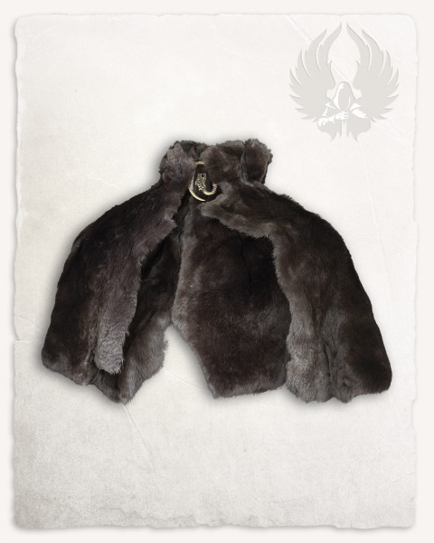 Fur stole Havanna Rex LIMITED EDITION