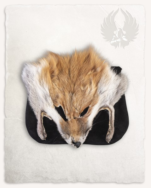 Canis beltbag with fur Red Fox black