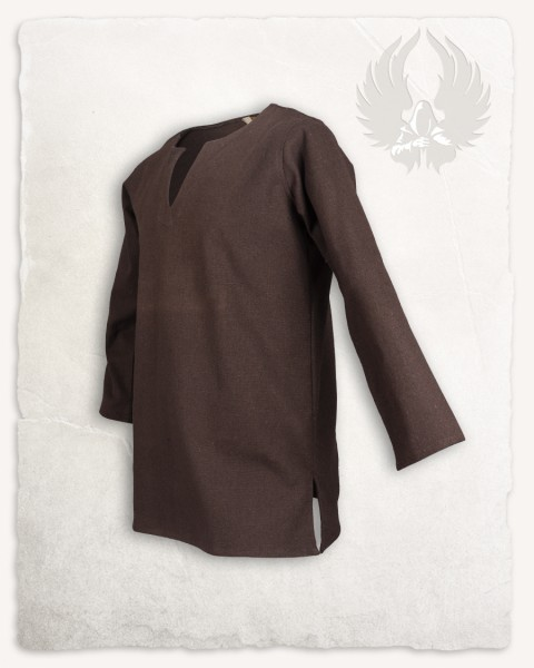Tronde tunic canvas brown