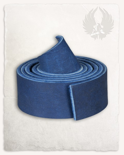 Leather strap blue LIMITED EDITION