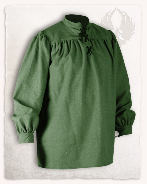 Ansgar shirt canvas green