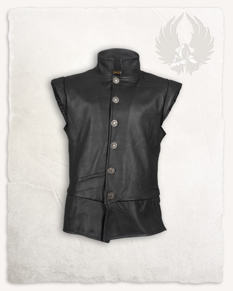 Tilly doublet leather black S