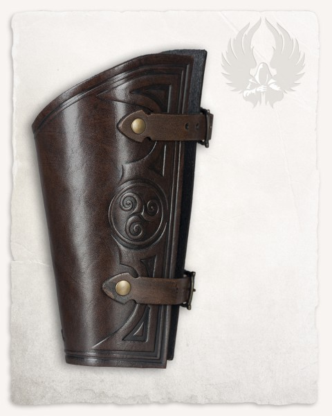 Artemis Archer bracer celtic large brown
