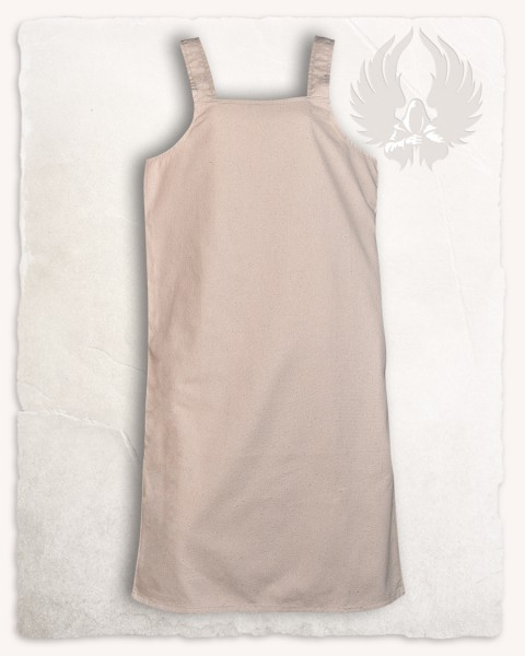 Esther apron dress cream