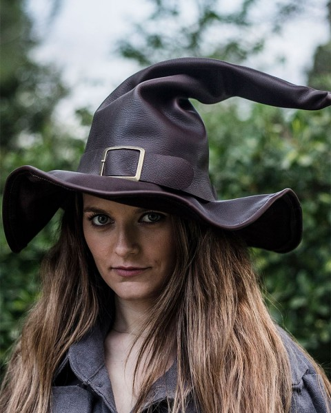 Wikka witch's hat brown