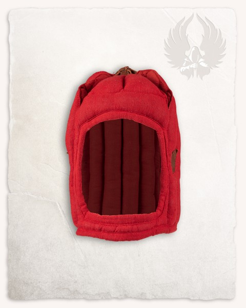 Aulber padded coif closed red LIMTED EDITION