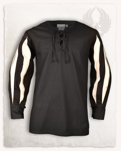 Toennes shirt black/cream