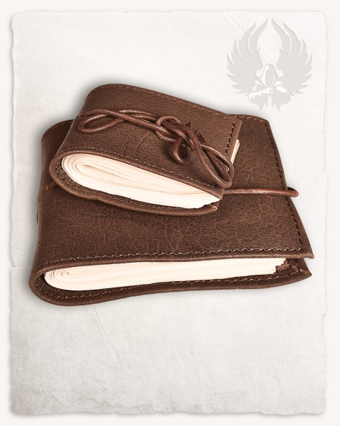 Pocketbook with leather cover