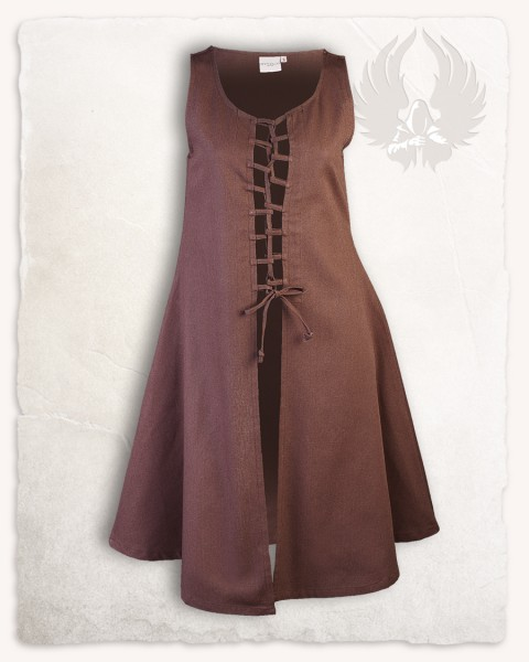 Leandra dress brown