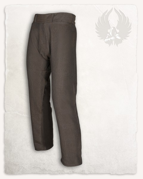 Ranulf Thorsberg trousers herringbone brown Limited Edition