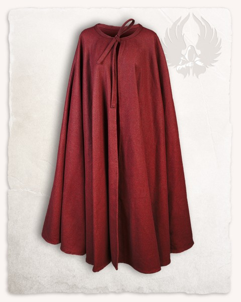 Rudolf cloak wool bordeaux