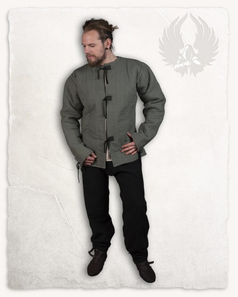 Aulber gambeson jacket canvas olive Limited Edition
