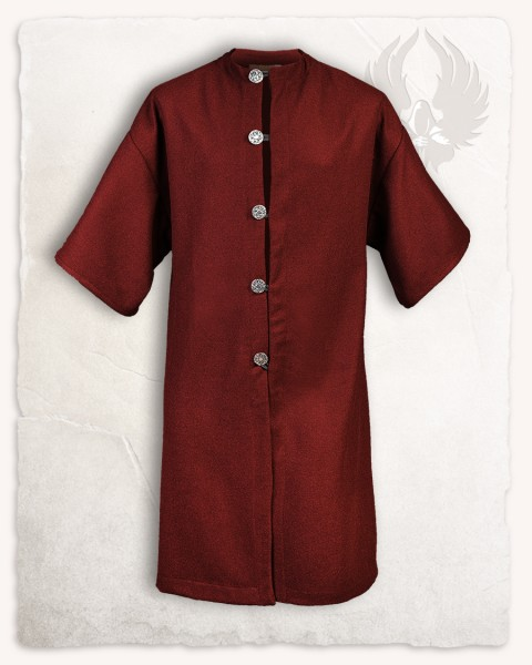Rudolf coat wool burgundy